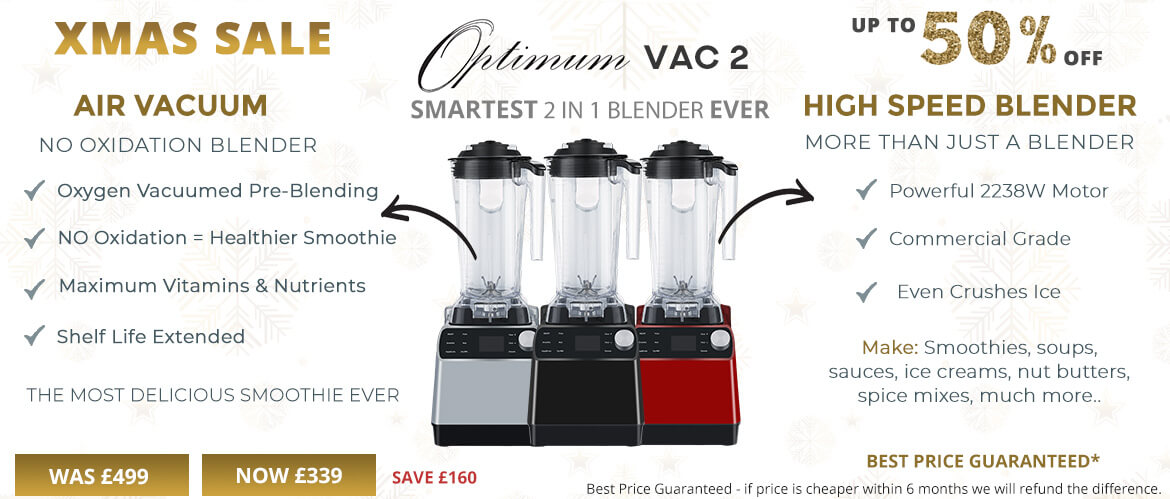 vacuum blender new tech