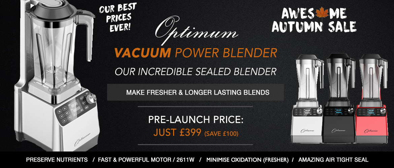 vacuum blender new tech