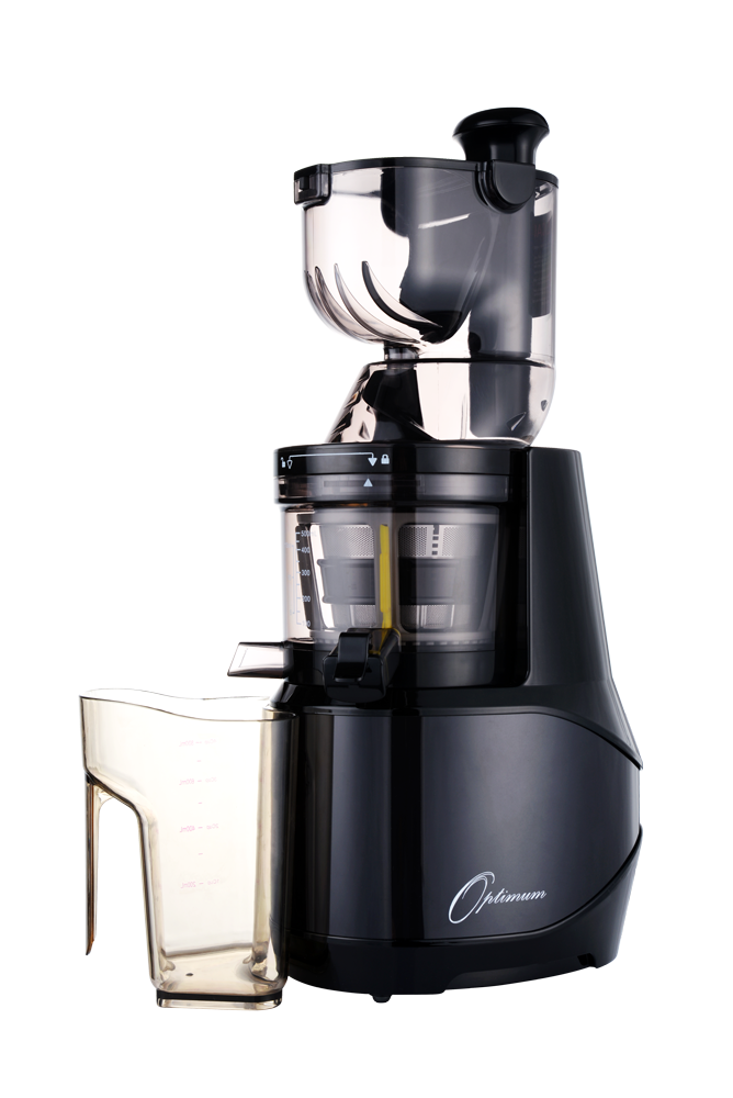 Slow Press Juicer Benefits : Slow juicers :: Optimum 700: Double Chute Slow Juicer Large and Small Chutes for perfect juicing.